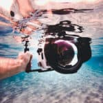 how to carry camera while snorkeling