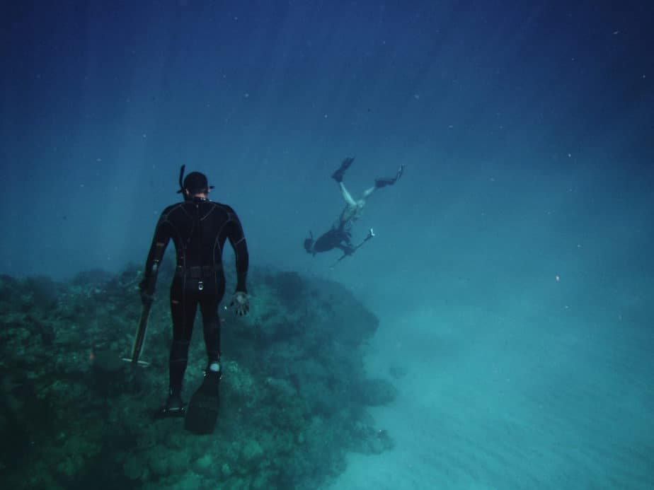 air integrated dive computer spearfishing